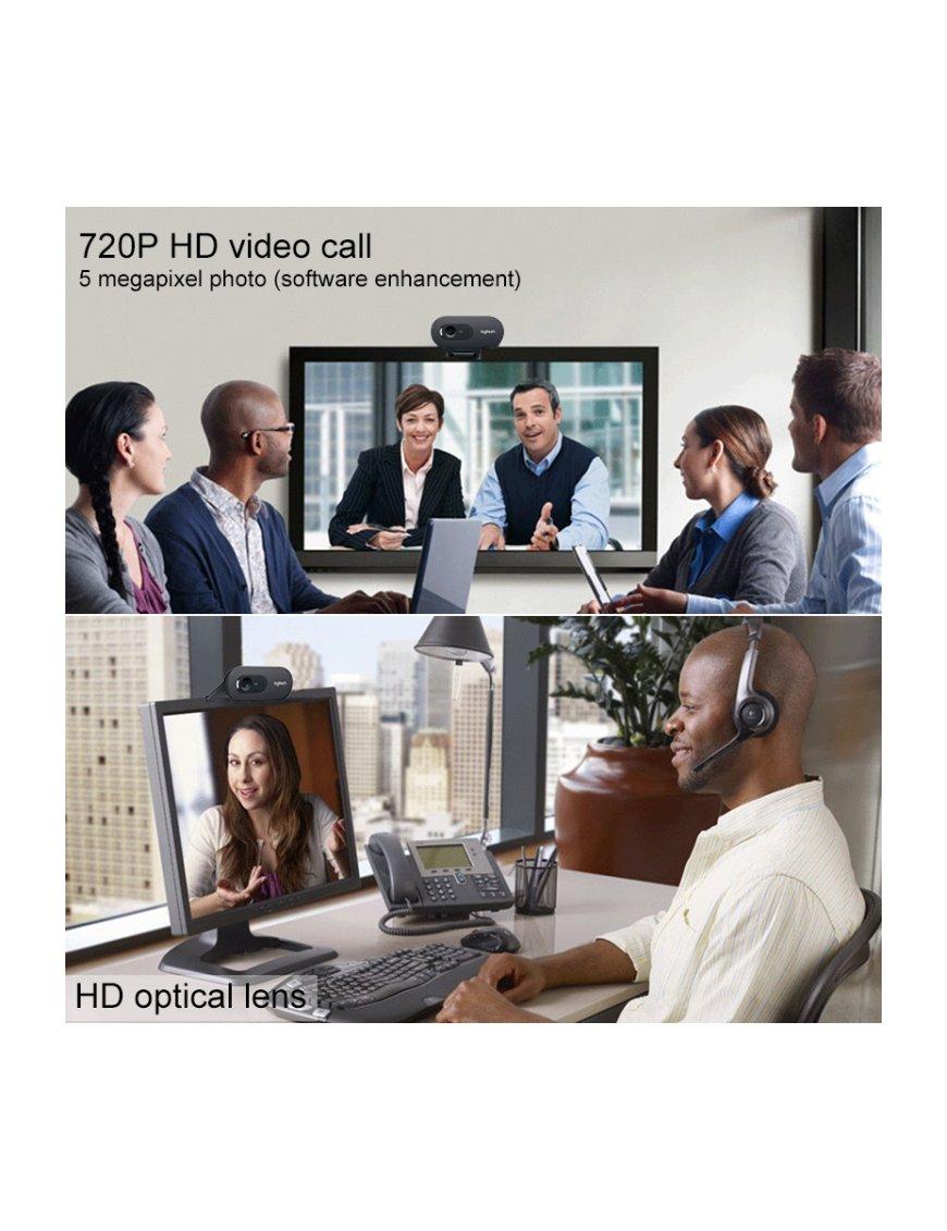 Logitech C270i IPTV HD Webcam (Black)