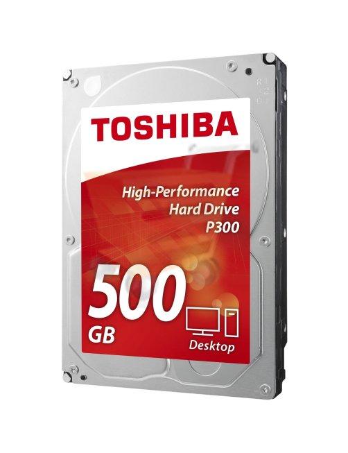 "Disco interno Toshiba 500GB 3.5"" SATA3 7200RPM 64MB P300 CAJ"