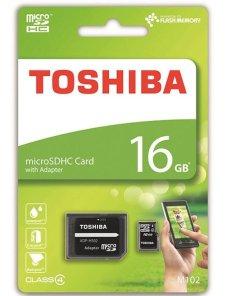Memoria Toshiba 16GB MicroSDXC Class 10