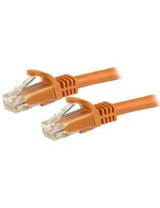 Cable de Red 15cm Naranja Cat6 Snagless - Imagen 1