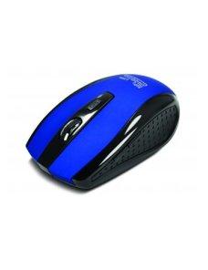 Klip Xtreme KMW-340 - Ratón - diestro - óptico - 6 botones - inalámbrico - 2.4 GHz - receptor inalámbrico USB - azul - Imagen 1