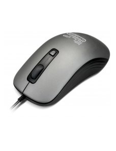 Klip Xtreme - Mouse - Wired - USB - Gray - 1600dpi - Imagen 1