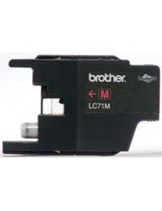 Brother LC-71M - Magenta - original - cartucho de tinta - para Brother MFC-J280, J425, J430, J435, J625, J825, J835; MyMio MFC-J