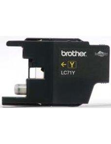 Brother LC-71Y - Amarillo - original - cartucho de tinta - para Brother MFC-J280, J425, J430, J435, J625, J825, J835; MyMio MFC-