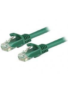 Cable de Red 15cm Verde Cat6 Snagless - Imagen 1