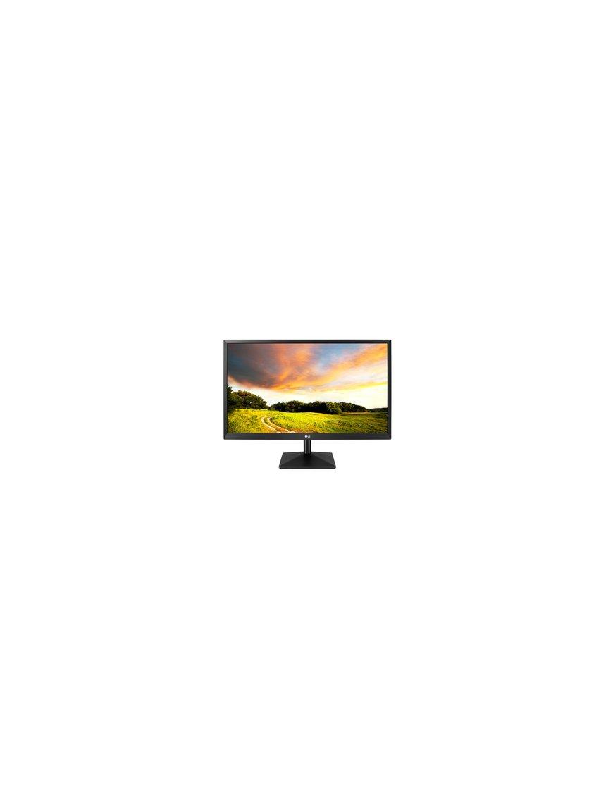 "LG 20MK400H-B - Monitor LED - 20"" - 1366 x 768 - TN - 300 cd/m² - 1000:1 - 2 ms - HDMI, VGA - negro mate - Imagen 1"