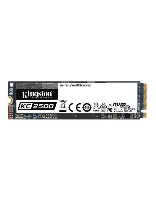 SSD 2000 G KC2500 M.2 2280 NVMe PCIe Gen 3.0 - Imagen 1