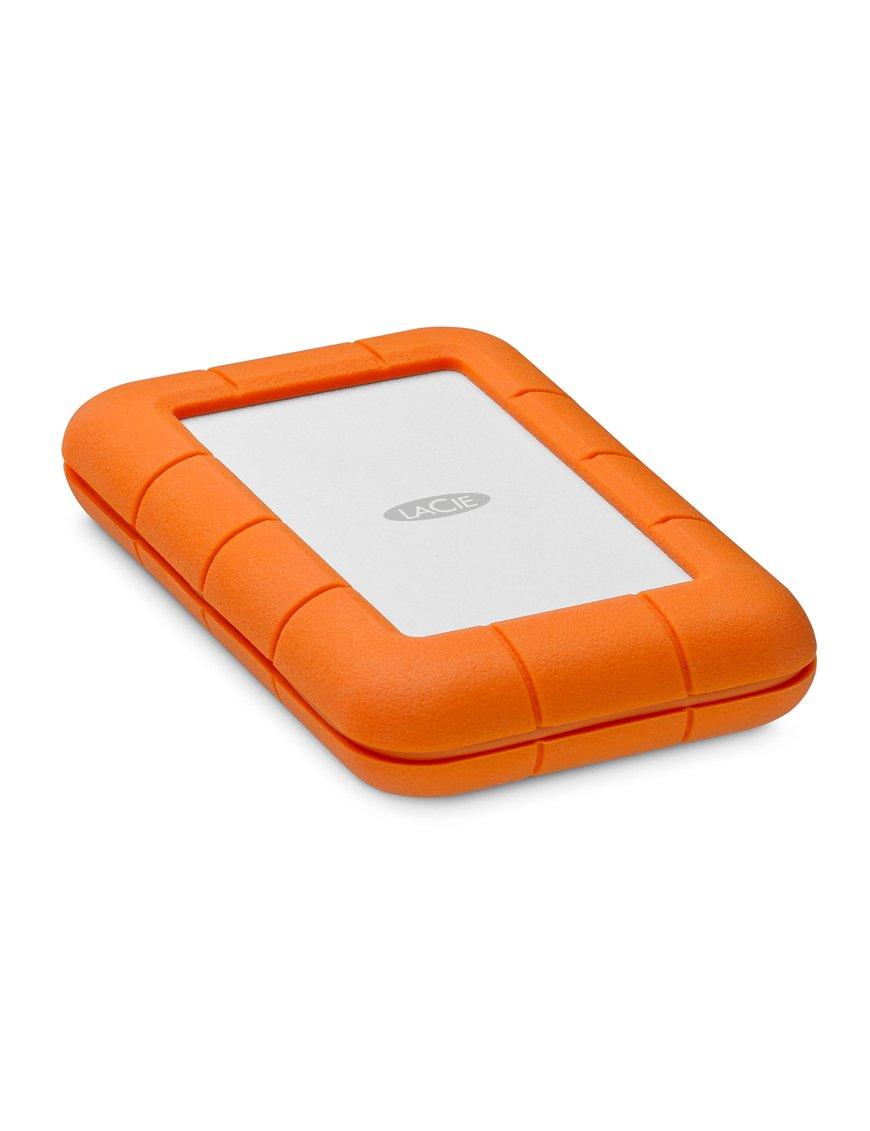 LaCie Rugged Thunderbolt USB-C STFS5000800 - Disco duro - 5 TB - externo (portátil) - USB 3.1 Gen 1 / Thunderbolt (USB-C conecto