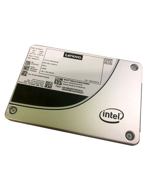 "Lenovo - Internal hard drive - 480 GB - 2.5"" - Solid state drive - 4XB7A13634 - Imagen 1"