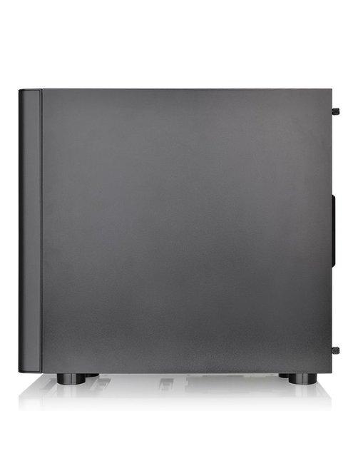 Gabinete  V150 TG/Black/Win/SPCC/Tempered Glass - Imagen 4