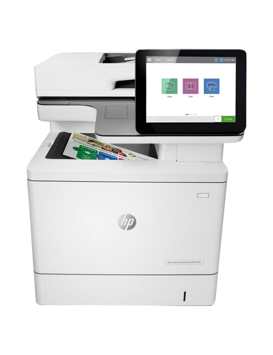 HP MFP M578dn - Printer / Copier / Scanner / Fax - Laser 7ZU85A#AKV