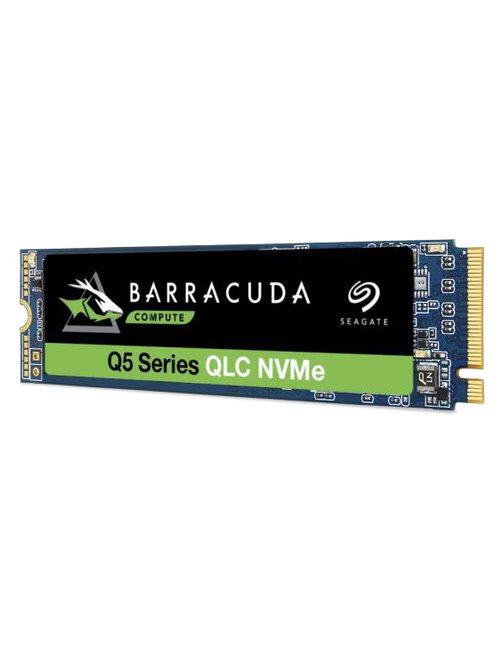 Seagate Barracuda Q5 ZP500CV3A001 - Unidad en estado sólido - 500 GB - interno - M.2 2280 - PCI Express 3.0 x4 (NVMe) - Imagen 1